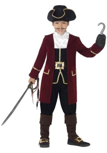 Boy's Deluxe Captain Hook Costume