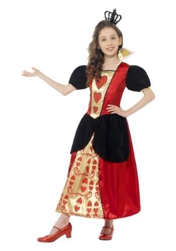 Girl's Miss Hearts Costume