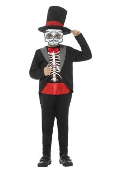 Boy's Day of the Dead Costume