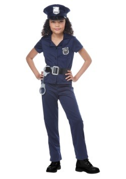 Girls Cute Cop Costume