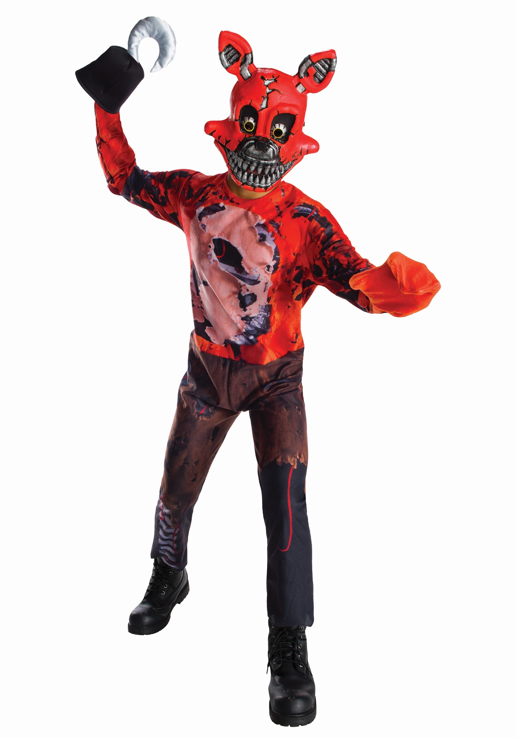 Five nights at freddys dress up game - Five Nights At Freddy S Nightmare Foxy Boys Costume