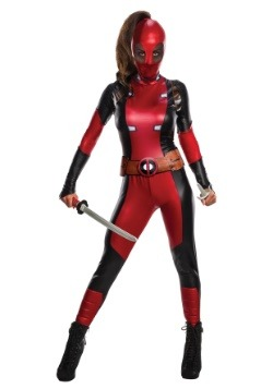 Women's Secret Wishes Deadpool Costume