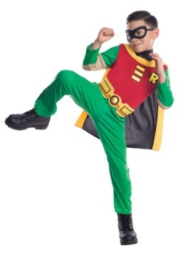 Teen Titans Boys Robin Costume