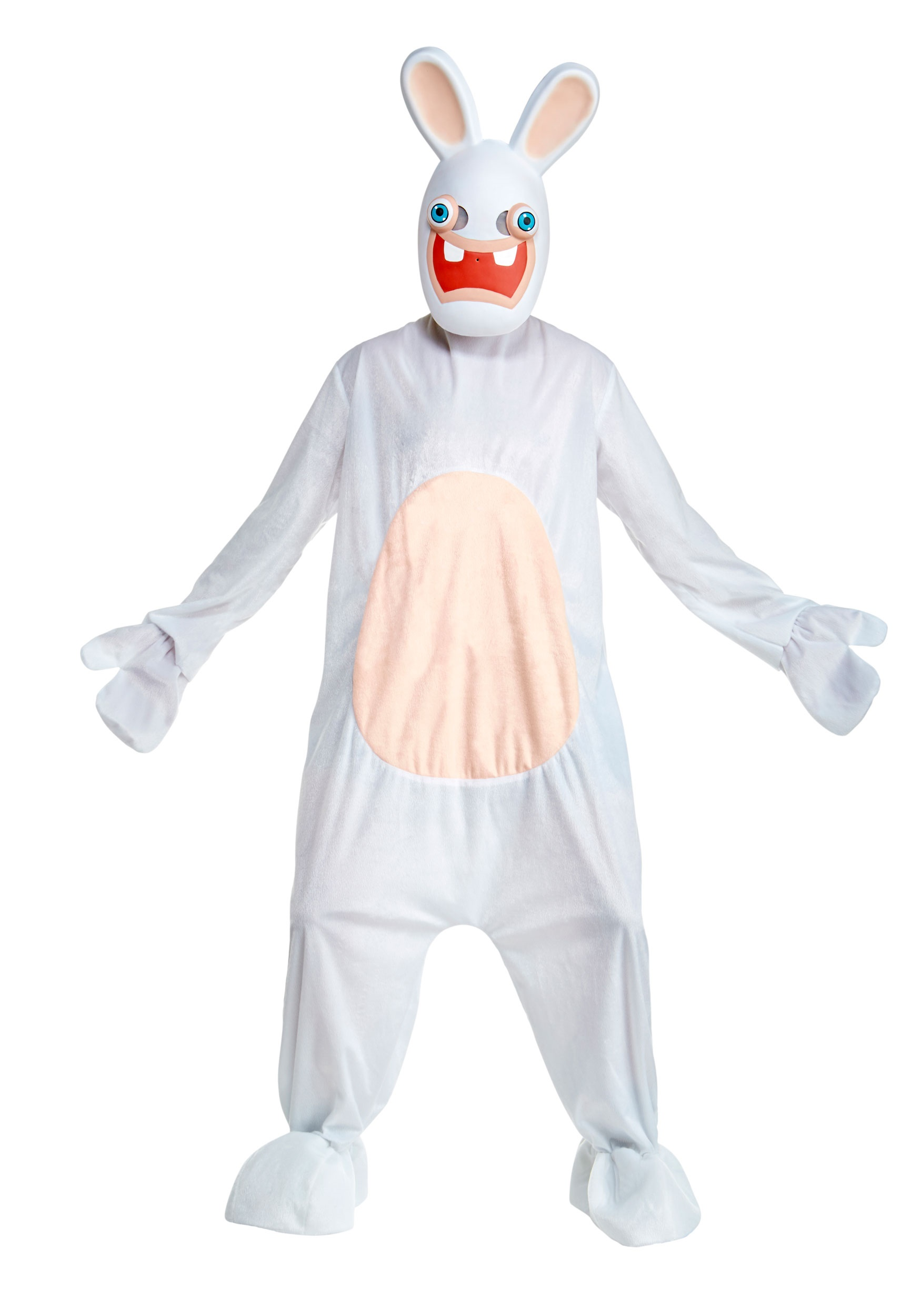 Deluxe Rabbids Costume for Adults