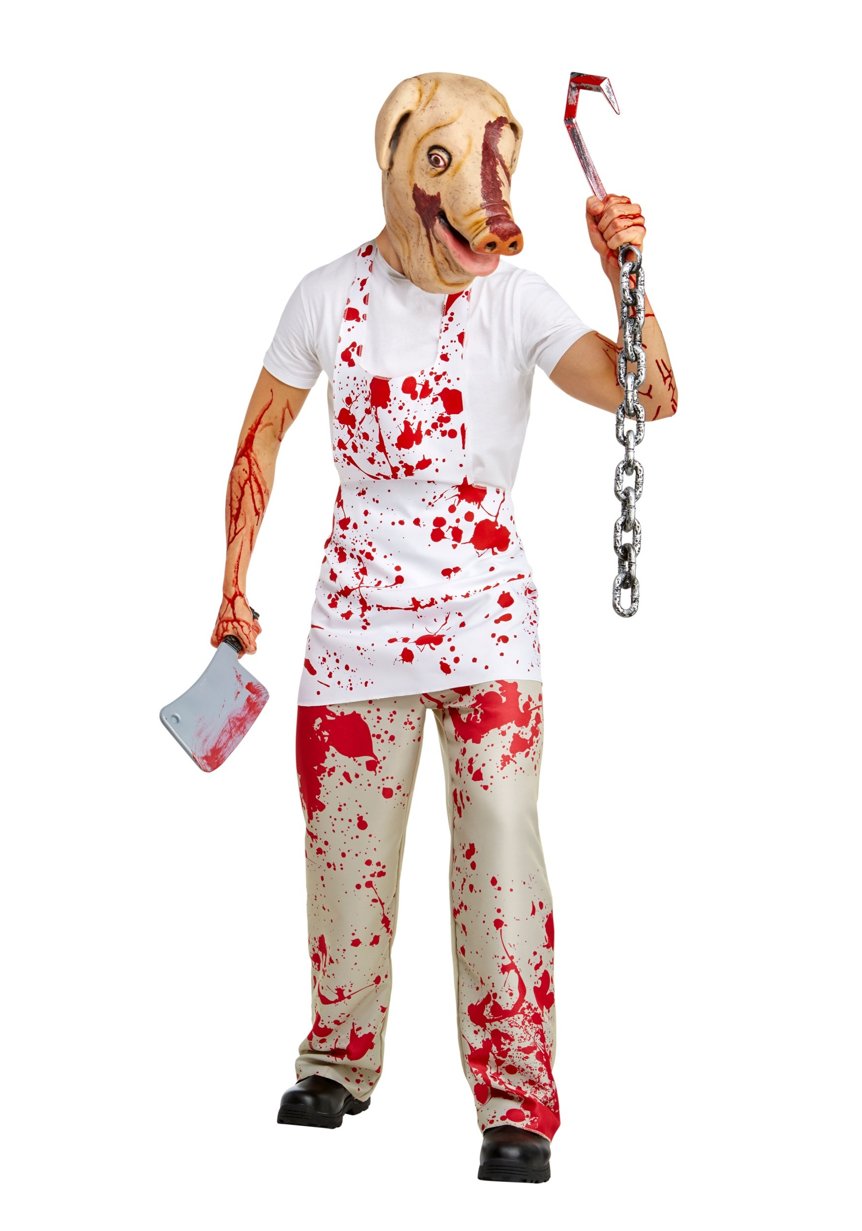 Adult Piggy Man Costume from American Horror Story