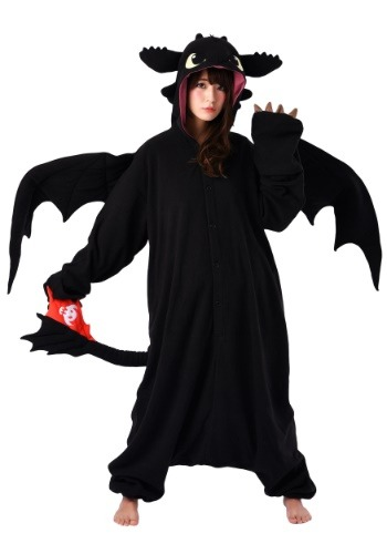 How to Train Your Dragon Toothless Adult Kigurumi