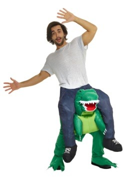 T-Rex Piggyback Men's Costume