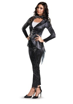Women's Jack Skellington Deluxe Costume
