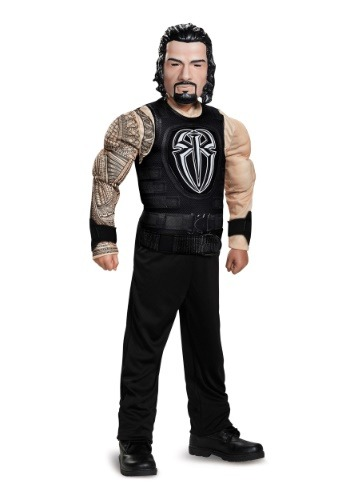 Boys Roman Reigns Classic Muscle Costume