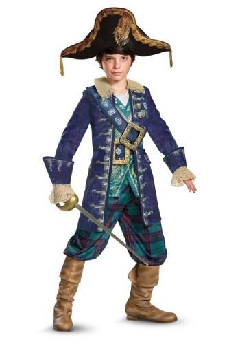 Captain Barbossa Boys Deluxe Costume