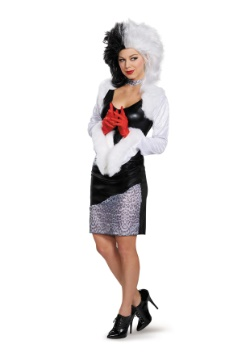 Sassy Cruella Womens Costume