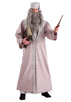 Adult Deluxe Plus Size Dumbledore Costume