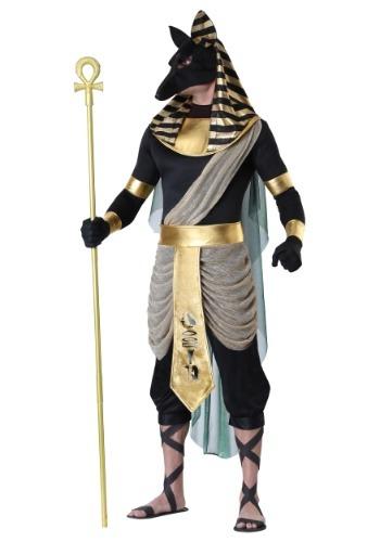 Men's Anubis Plus Size Costume