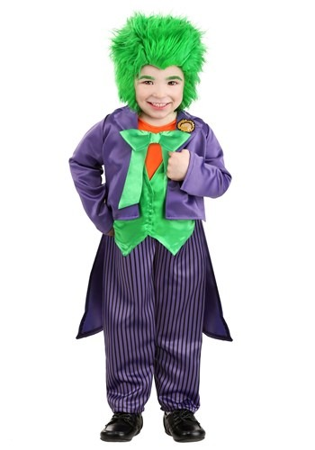 The Joker Toddler Costume