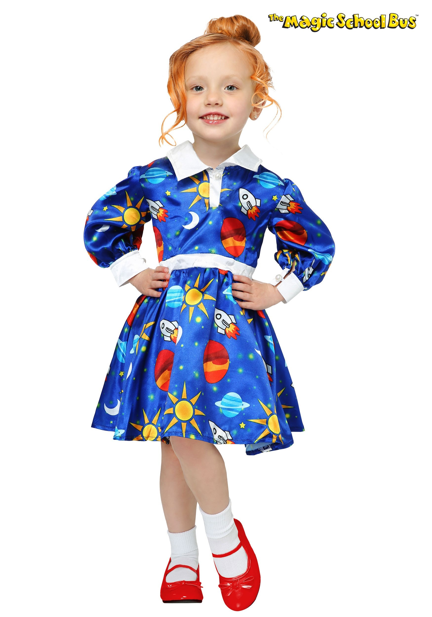 Magic School Bus Ms Frizzle Costume For Toddlers