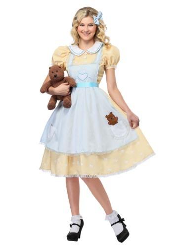 Women's Goldilocks Costume