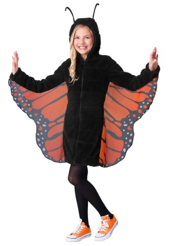 Girl's Cozy Monarch Costume