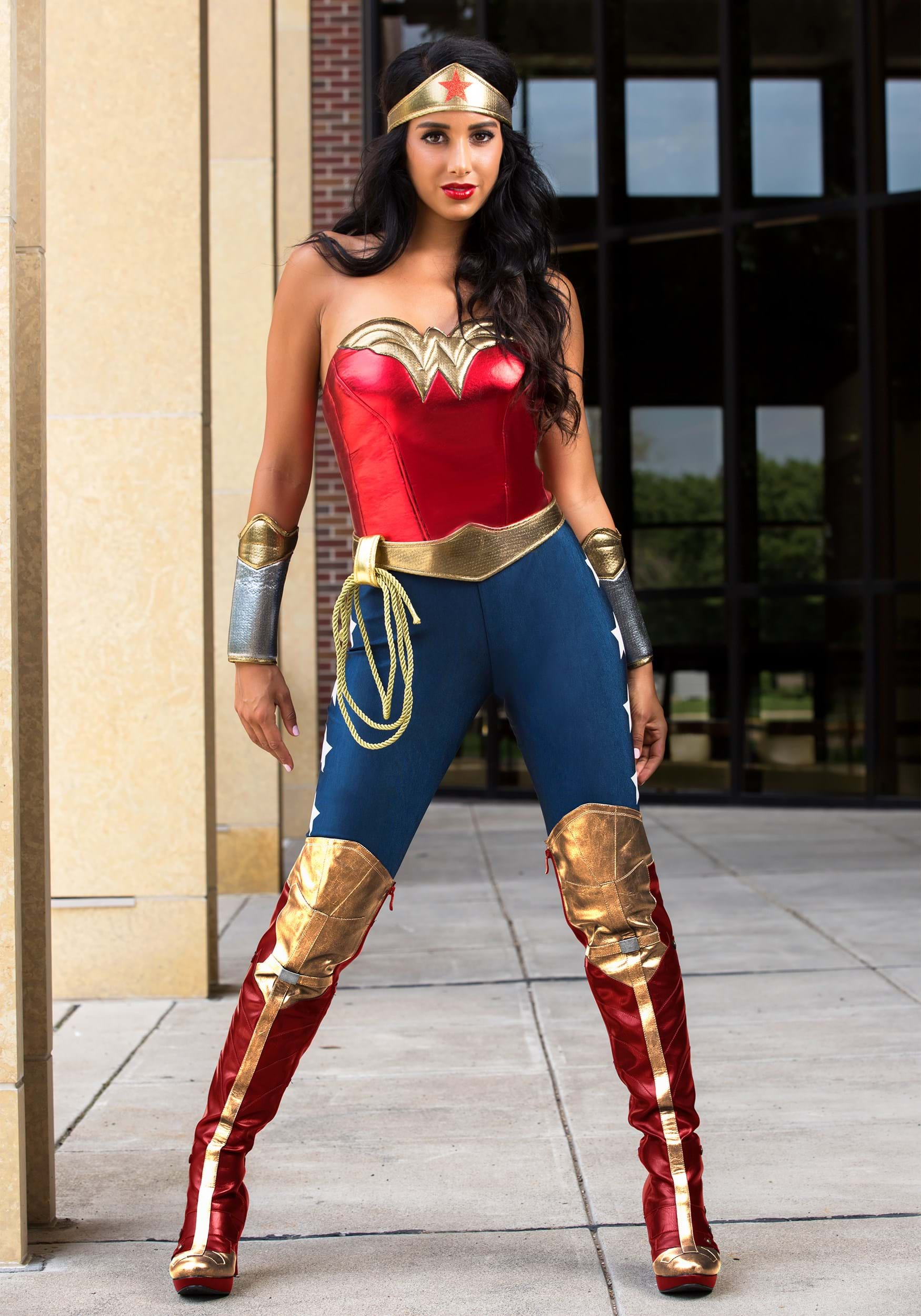 Adult DC Wonder Woman Costume  sc 1 st  Halloween Costumes UK & Superhero Costumes - Adult Sexy Child Superhero Halloween Costumes