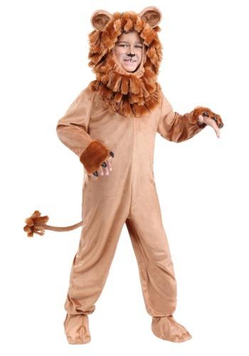 Child Lovable Lion Costume
