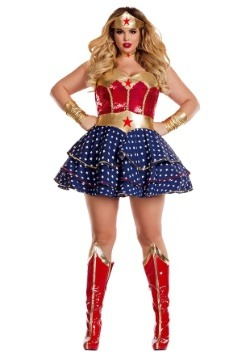 Wonderful Sweetheart Plus Size Womens Costume