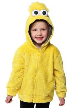 Sesame Street Big Bird Faux Fur Kids Costume Hoodie