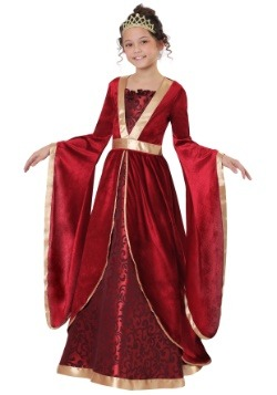 Girl's Renaissance Maiden Costume