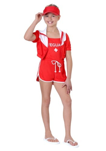 Girl's Lifeguard Costume