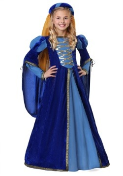 Girl's Renaissance Queen Costume