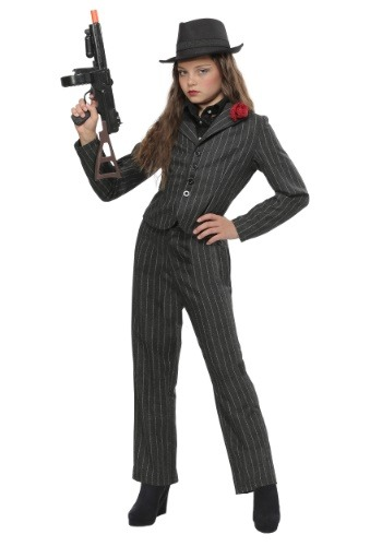 Girls Gangster Costume
