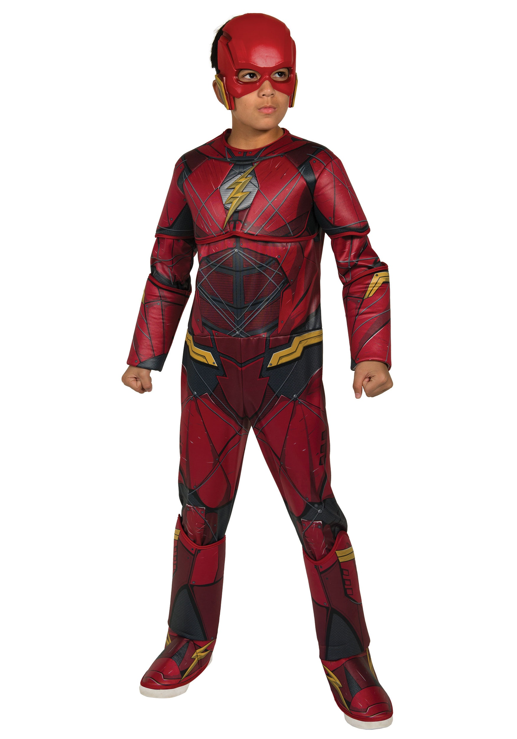 4fc9d3265ceaa Justice League Deluxe Flash Costume for Boys
