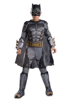 Justice League Deluxe Tactical Batman Boys Costume