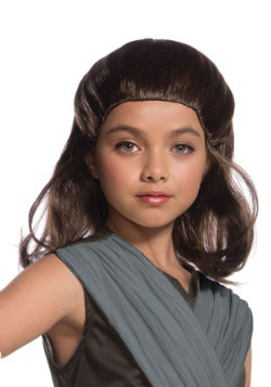 Star Wars The Last Jedi Rey Child Wig
