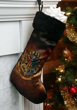 Christmas Stocking Harry Potter Hogwarts Crest