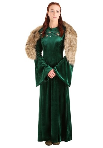 Women's Plus Size Wolf Princess Costume