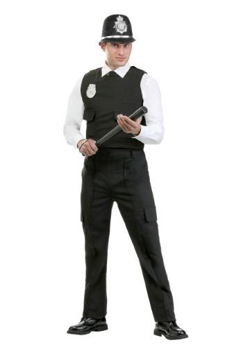Men's Modern British Bobby Costume