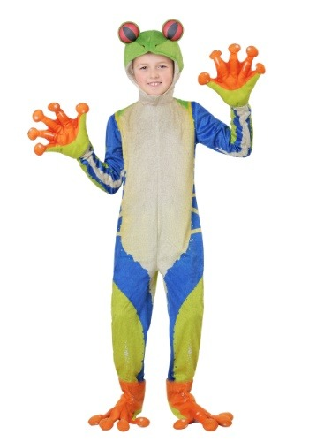 Child's Realistic Tree Frog Costume