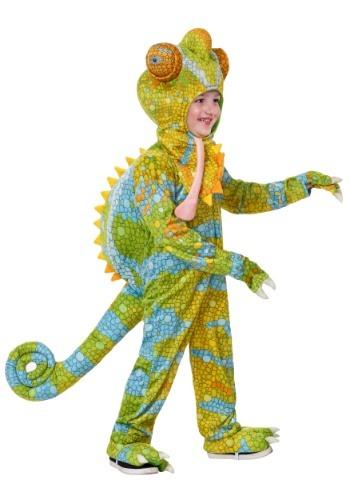 Toddler's Realistic Chameleon Costume