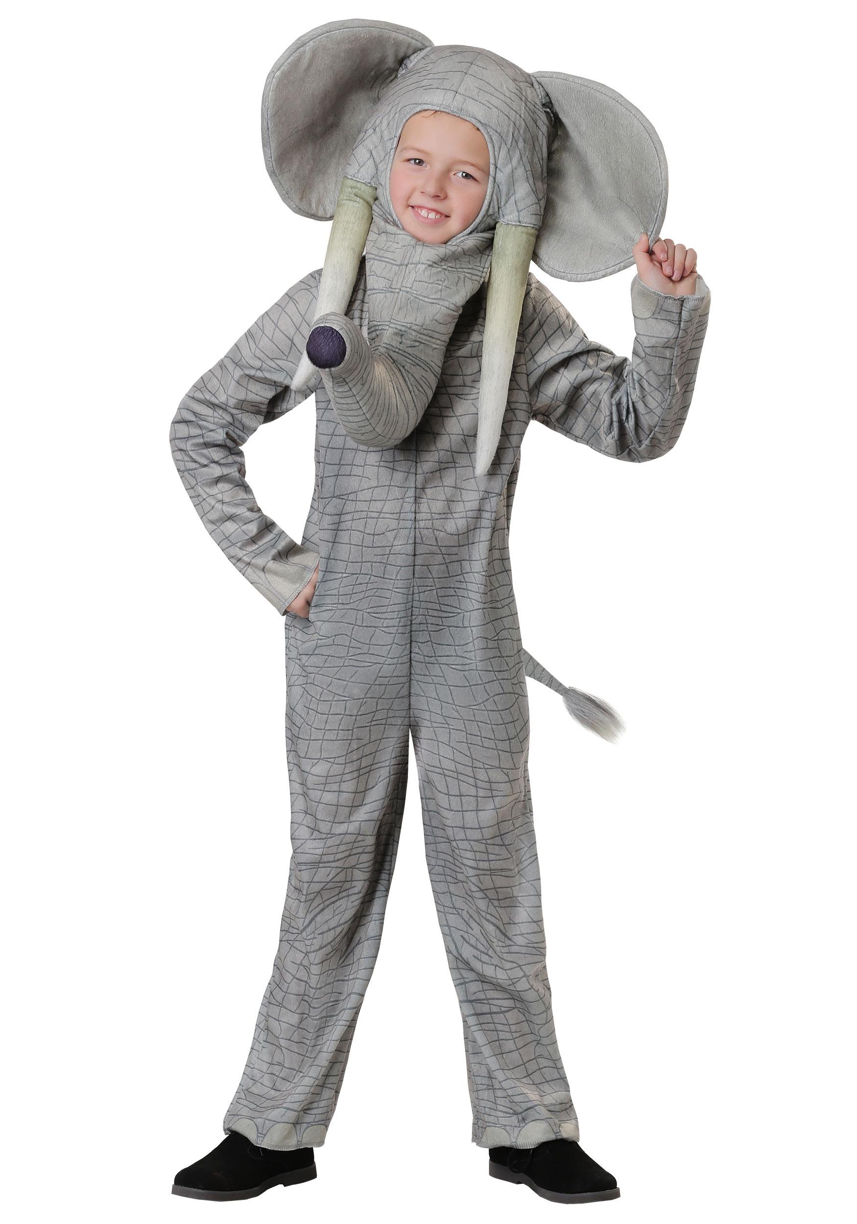 Kids Realistic Elephant Costume  sc 1 st  Halloween Costumes UK & Realistic Elephant Costume for Kids