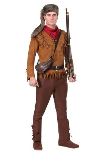 Men's Davy Crockett Costume