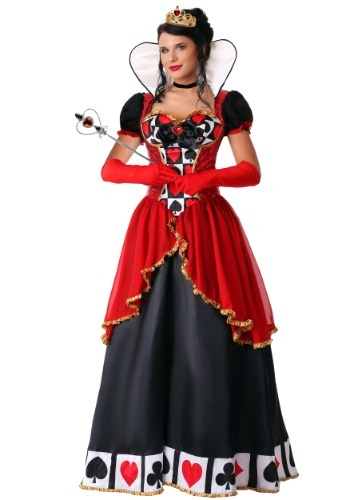 Women's Plus Size Supreme Queen of Hearts