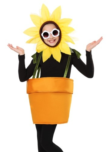 Flower Pot Kids Costume