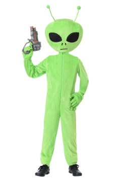 Kids Oversized Alien Costume