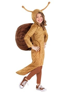 Girl's Snuggly Snail Costume