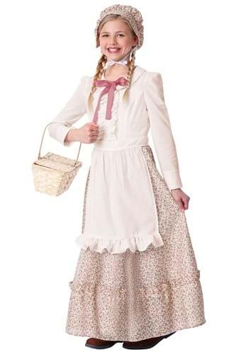 Girl's Prairie Pioneer Costume