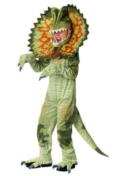 Child's Dilophosaurus Costume Update