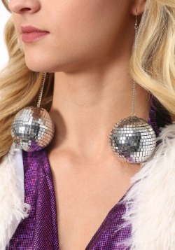 1960s Mod Disco Ball Earrings