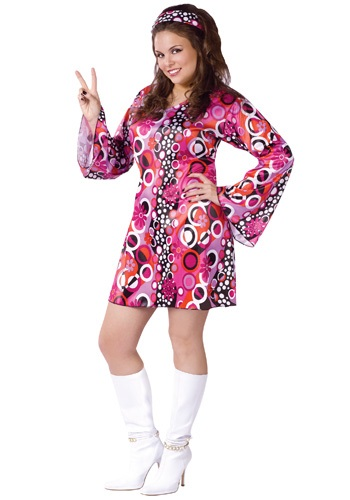 Plus Size Feelin Groovy Dress