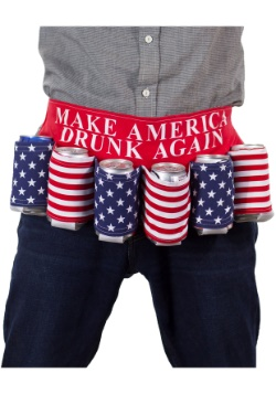 Make America Drunk Again Beer Belt