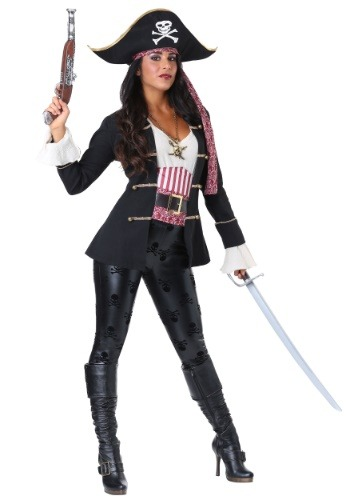 Women's Captain Crossbones Pirate Costume