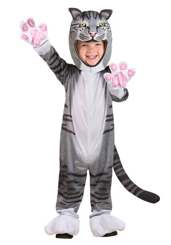 Toddler Curious Cat Costume1